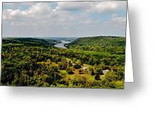 The Delaware River Valley Greeting Card