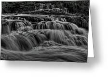 The Dells Of The Eau Claire Panoramic Greeting Card