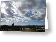 The Denver Sky Greeting Card