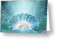 The Depths Of The Ocean Greeting Card