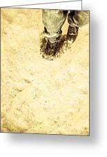 The Desert Wanderer Greeting Card
