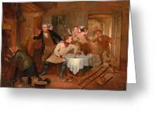 The Deserter's Home Greeting Card
