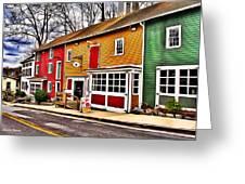 The Diamondback Tavern Of Ellicott City Greeting Card