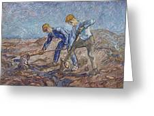 The Diggers Greeting Card