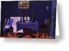 The Dining Room Greeting Card