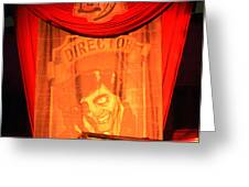 The Director Hhn 25 Greeting Card