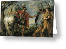 The Dismissal Of The Lictors Greeting Card