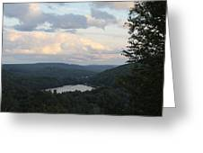 The Distant Hills Of Vermont Greeting Card