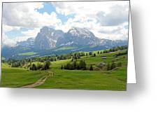 The Dolomites, Italy Greeting Card