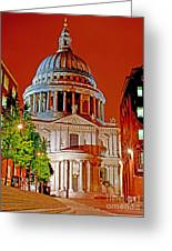 The Dome Of St Pauls Greeting Card