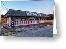 The Donut Shop No Longer 2, Niceville, Florida Greeting Card