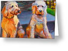 The Doodle Sisters Greeting Card