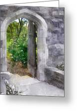 The Door Into Summer Greeting Card