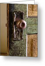 The Door Knob Greeting Card