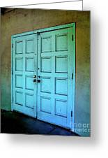 The Door To A Better Place Greeting Card