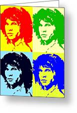 The Doors And Jimmy Greeting Card by Robert Margetts
