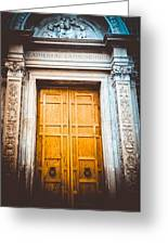 The Doors Of Cls Greeting Card