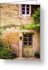 The Doorway To Provence Greeting Card