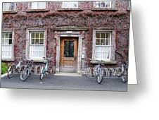 The Dorms At Trinity College Dublin Ireland Greeting Card