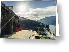 The Douro River Valley Greeting Card