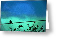 The Dove Above 2 Greeting Card