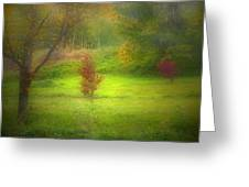 The Dream Field Greeting Card