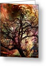 The Dream Oak Triptych Center Panel Greeting Card