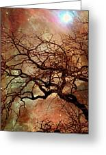 The Dream Oak Triptych Left Panel Greeting Card