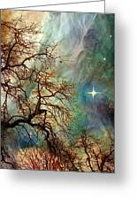 The Dream Oak Triptych Right Panel Greeting Card