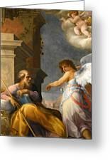 The Dream Of Saint Joseph Greeting Card