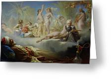 The Dream Of The Believer Greeting Card by Achille Zo