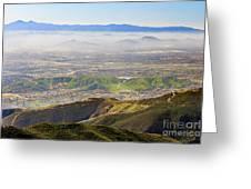 The Dreamy San Bernardino Greeting Card