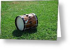 The Drum Greeting Card