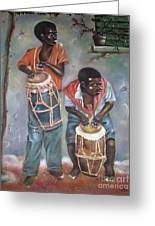 The Drummers Greeting Card