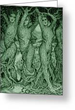 The Dryads Greeting Card