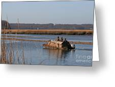 The Duck Hunters Greeting Card