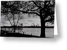 The Duck Pond Greeting Card