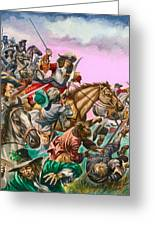 The Duke Of Monmouth At The Battle Of Sedgemoor Greeting Card