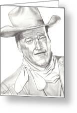 The Duke Greeting Card