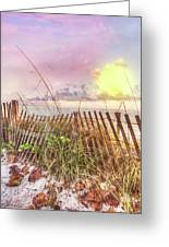 The Dunes In Watercolors Greeting Card