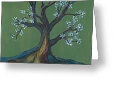 The E Tree Greeting Card