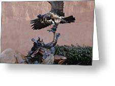 The Eagle And The Indian Greeting Card