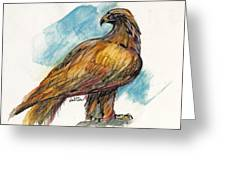 The Eagle Drawing Greeting Card