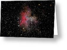 The Eagle Nebula And The Stellar Spire Greeting Card