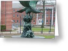 The Eagle - Widener University Greeting Card