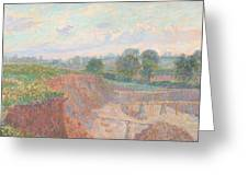 The Earthworks Greeting Card