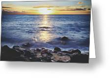 The Ebb And Flow Greeting Card