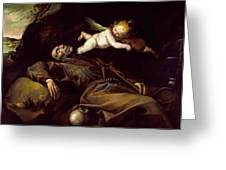 The Ecstasy Of Saint Francis Greeting Card
