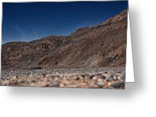The Edge Of Death Valley Greeting Card