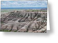 The Edge Of Panoramic Point Greeting Card